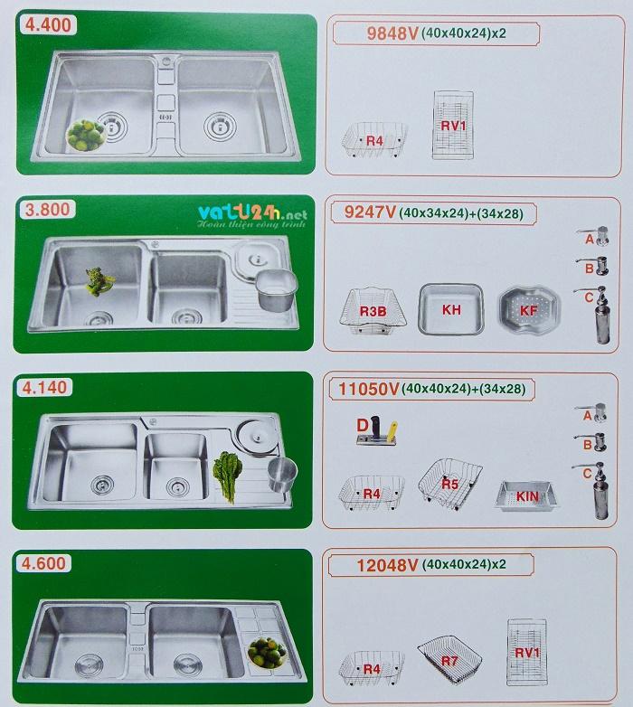 Bồn rửa chén inox 304