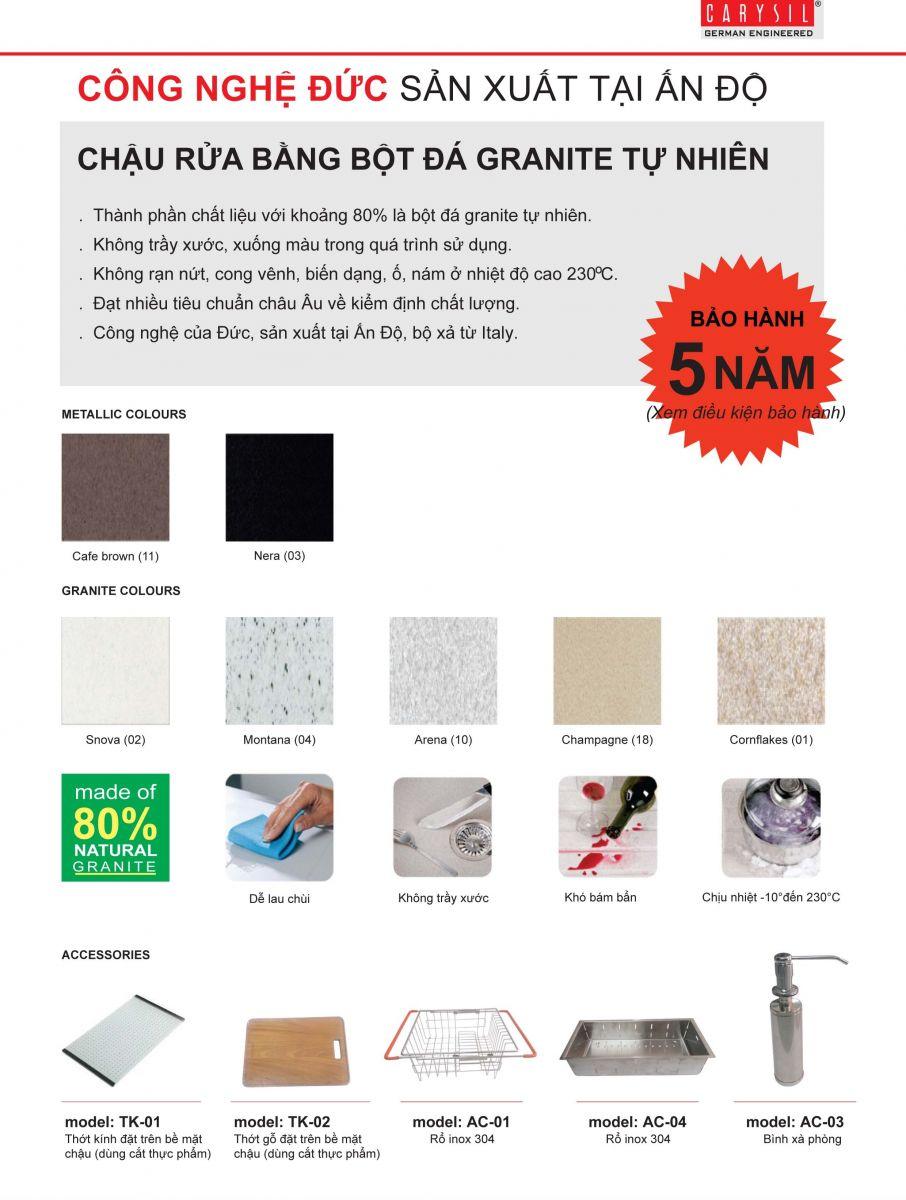 Chau-rua-chen-da-nhan-tao-Carysil